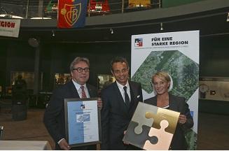 Anerkennungspreis für eine Starke Region Basel an den FC Basel