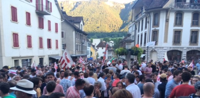 Moutier ist überall