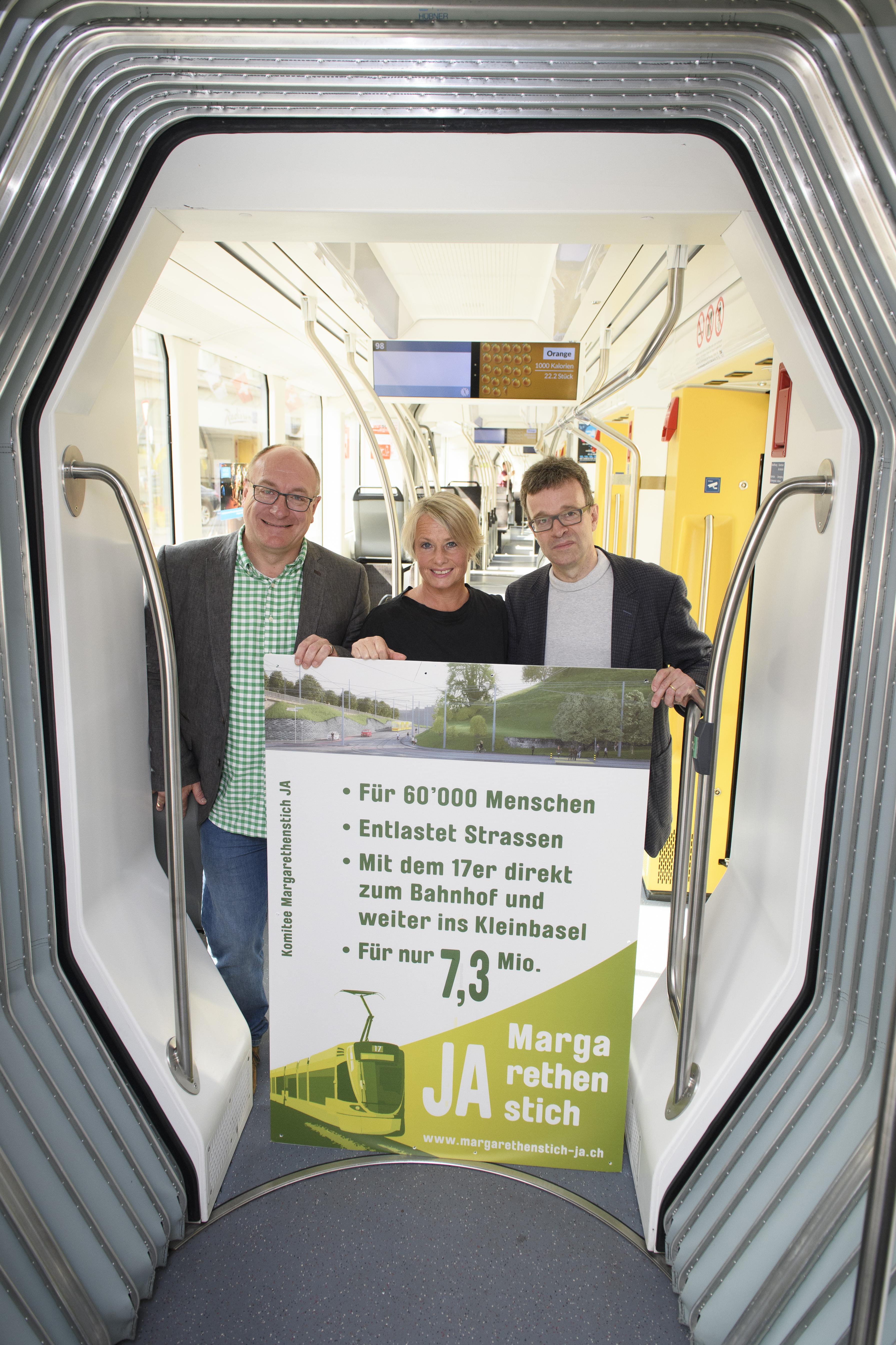 JA zum Margarethenstich – starke ÖV-Anbindung des Leimentals ist Gewinn für ganze Region