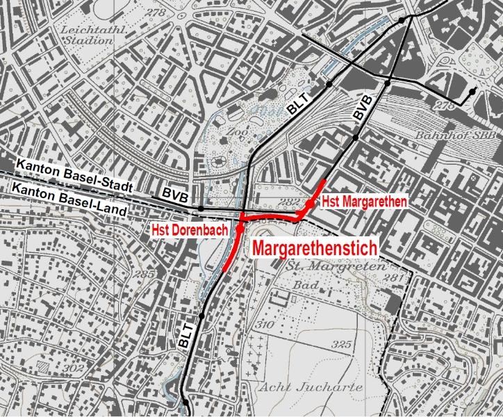 Starke Region enttäuscht über Ablehnung des Margarethenstichs – stärkere ÖV-Anbindung des Leimentals bleibt zentral