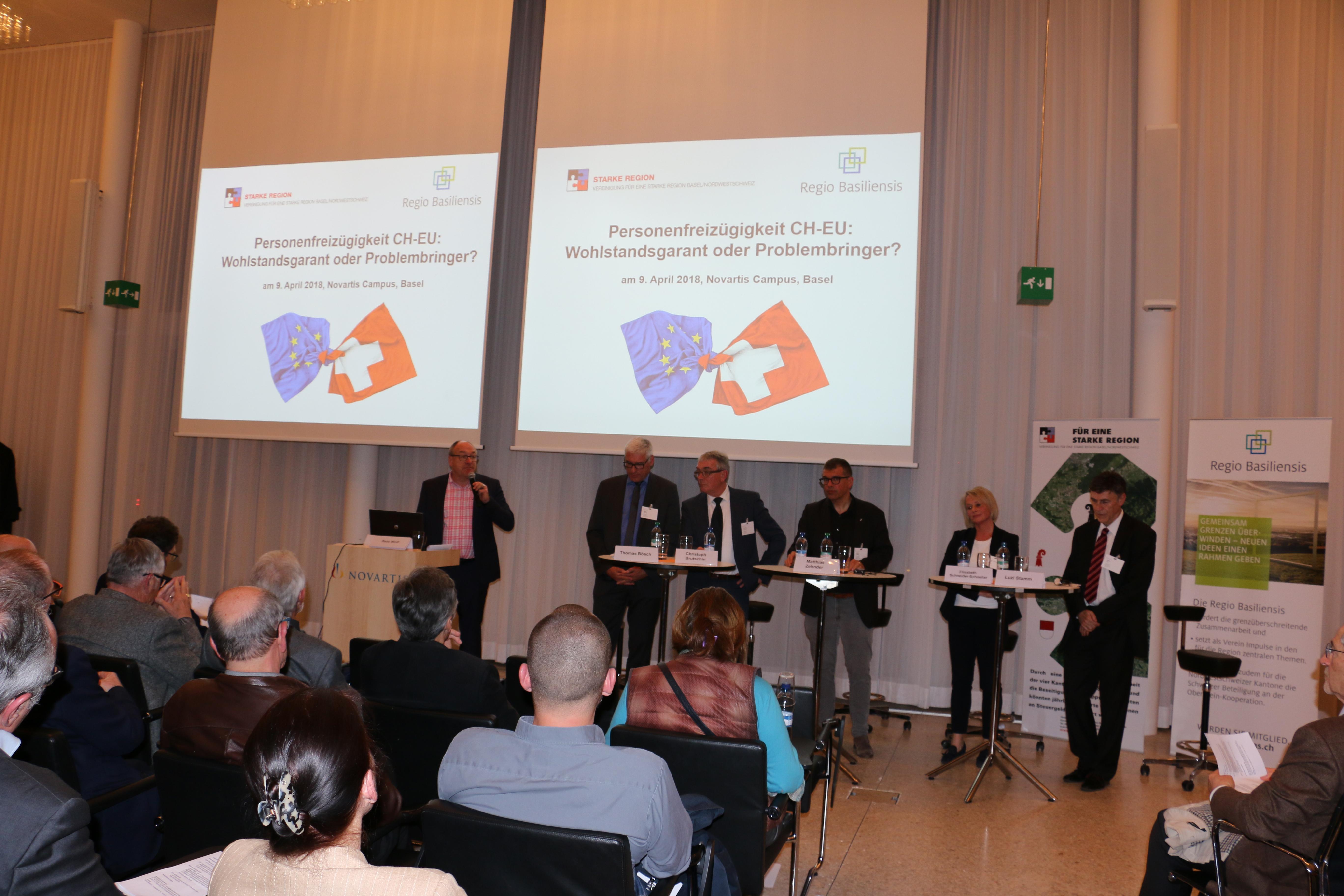 Rückblick: Veranstaltung zur Personenfreizügigkeit CH-EU, 9. April 2018