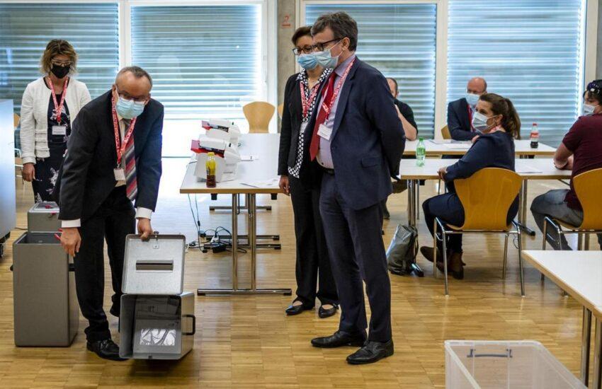 Als Abstimmungsbeobachter des Bundes war unser Vorstandsmitglied Marc Schinzel in Moutier dabei.